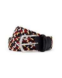 Andersons 56 Woven Belt Red Multi