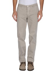 Gold Case By Rocco Fraioli Trousers Casual Trousers Men Light Grey
