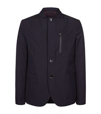 Armani Collezioni Button Through Jacket Male Navy