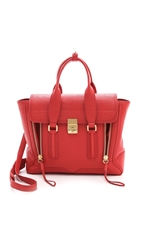 3.1 Phillip Lim Pashli Medium Satchel Red