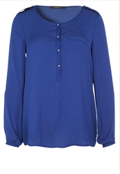 Esprit Collection Tunic Dragon Blue
