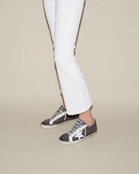 Golden Goose Superstar Sneakers Black Denim Grey Nabuk