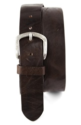 Tommy Bahama Leather Belt Grey