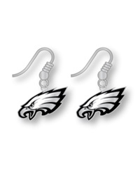 Aminco Philadelphia Eagles Logo Drop Earrings Team Color