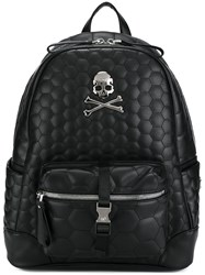 Philipp Plein 'Fundamental' Backpack Black
