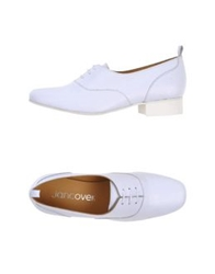 Jancovek Lace Up Shoes White