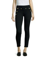 Hudson Olivia Ankle Sailor Trousers Black