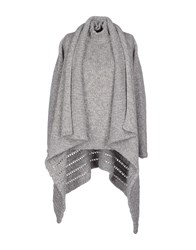 Malo Knitwear Cardigans Women Light Grey