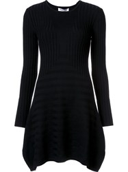 Opening Ceremony 'Linear Handkerchief' Dress Black