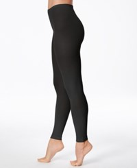 Hanes Matte Opaque Leggings Black