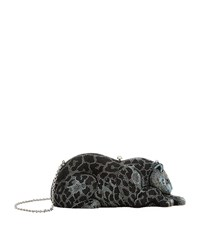 Judith Leiber Jaguar Clutch Female Multi