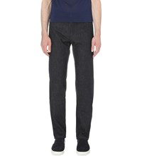Brioni Dark Regular Fit Straight Jeans Denim