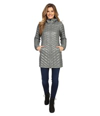 The North Face Thermoball Hooded Parka Sedona Sage Grey Women's Coat Gray