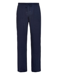 Derek Rose Basel Straight Leg Jersey Trousers