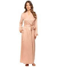 La Perla Jazz Time Long Robe Nude Women's Robe Beige