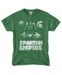 Tailgate Clothing Men's Michigan State Spartans Darth Vader Empire T Shirt