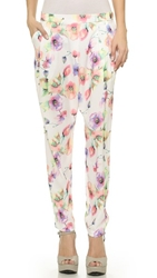 Re Named Pastel Trousers Off White