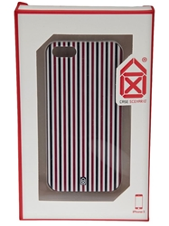 Case Scenario Striped Iphone 5 Case Red