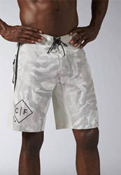 Reebok Crossfit Super Nasty Sports Shorts Chalk White