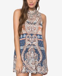 O'neill Lennon Printed Shift Dress Multi Color