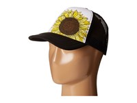 O'neill Tropics Trucker Hat Black White Caps