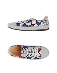 Desigual Low Tops And Trainers White