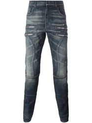 Faith Connexion Tapered Jeans Blue