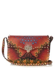 Valentino Rockstud Enchanted Wonderland Cross Body Bag Multi