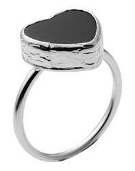First People First Jewellery Rings Women Black