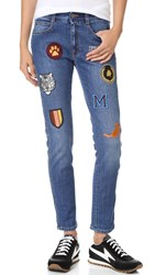 Stella Mccartney Skinny Boyfriend Jeans Dark Blue