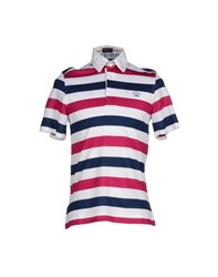 Paul And Shark Topwear Polo Shirts Men White