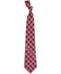 Eagles Wings Georgia Bulldogs Checked Tie Team Color