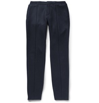Berluti Wool And Cashmere Blend Trousers Blue