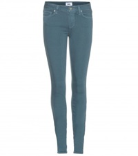 Paige Verdugo Skinny Jeans Green