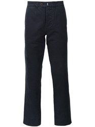 Officine Generale Chino Trousers Blue