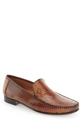 Men's Mezlan 'Dali' Genuine Snakeskin Venetian Loafer