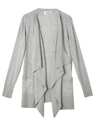 Precis Petite By Jeff Banks Waterfall Cardigan Dark Grey