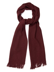 Colombo Waffle Knit Cashmere And Silk Blend Scarf