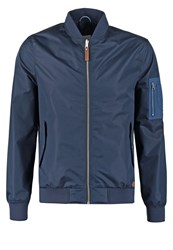 Knowledge Cotton Apparel Summer Jacket Total Eclipse Dark Blue