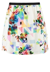 Naf Naf Mini Skirt Imprime Multicoloured