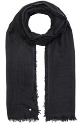 Ann Demeulemeester Cashmere Scarf In Black