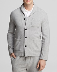 Steven Alan Jerome Sweatshirt Jacket Light Grey