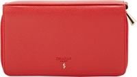 Serapian 'Evolution' Travel Wallet Red
