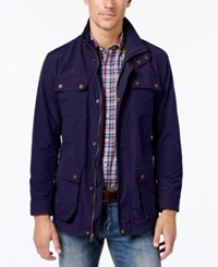 Club Room Men's Big And Tall Lightweight Field Jacket Navy
