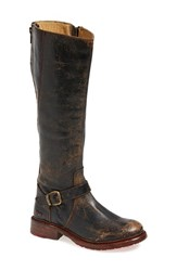 Women's Bed Stu 'Glaye' Tall Boot Black Leather