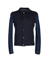 Hotel Coats And Jackets Jackets Men Dark Blue