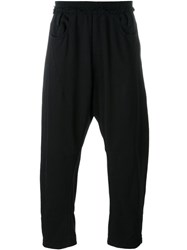 Haider Ackermann Cropped Track Pants Black
