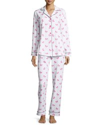 Bedhead Butterfly Print Classic Pajama Set Painted Butterfly
