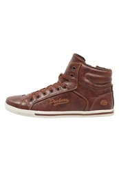 Dockers By Gerli Hightop Trainers Braun Brown