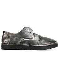 Marsell Marsell Slip On Derby Shoes Metallic
